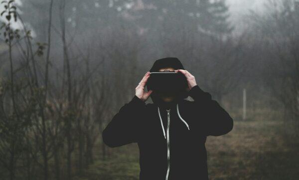virtual reality, vr goggles, men's